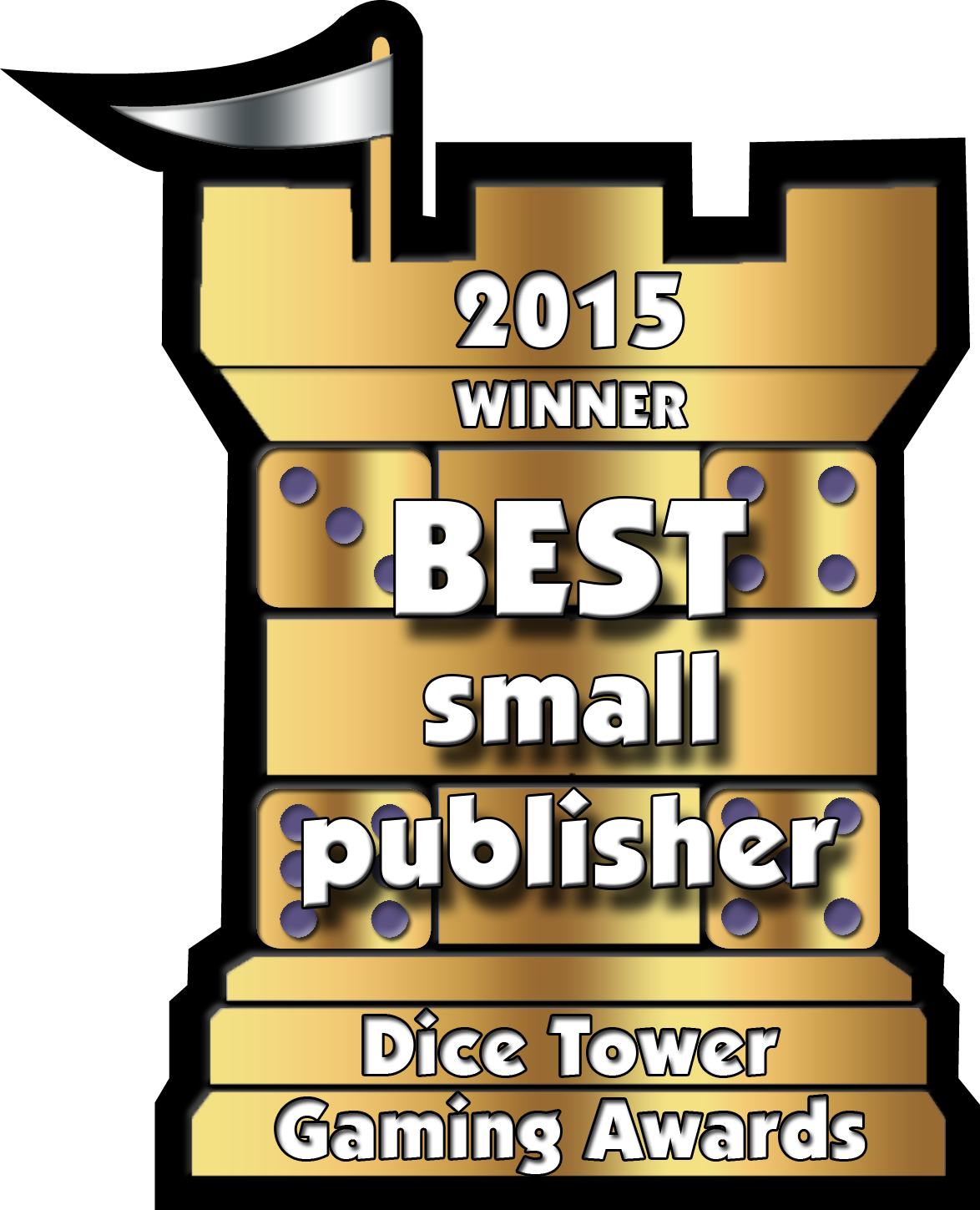 2015 Small Publisher Win